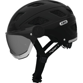 ABUS Hyban+ Casco, smoke visor black